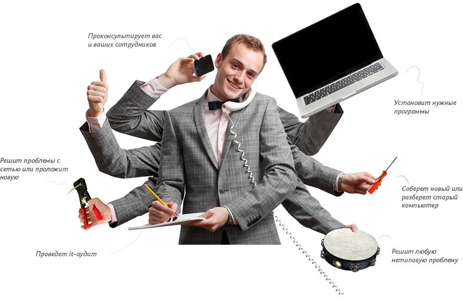 Обслуживание ИТ